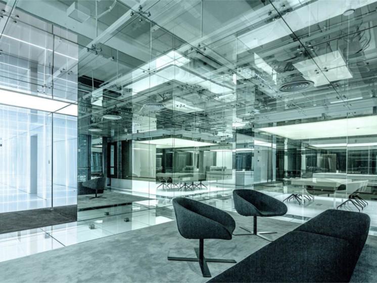 玻璃办公楼
