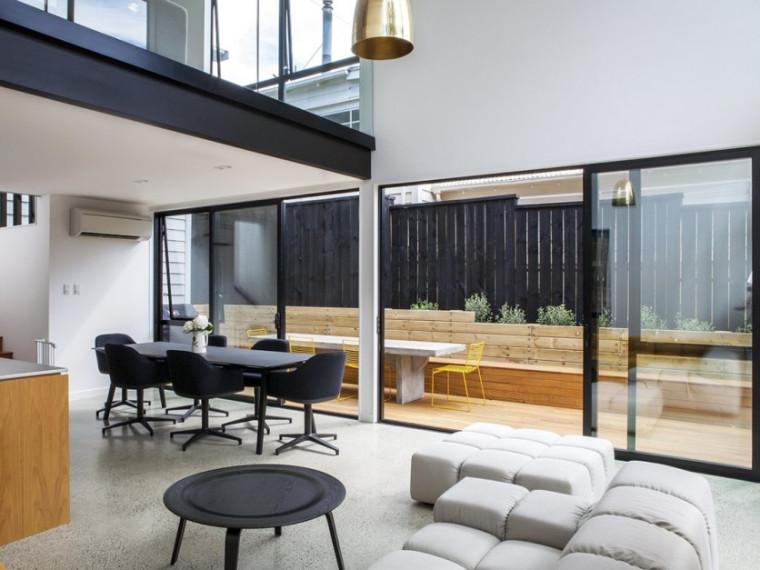 新西兰现代风格立方体房屋