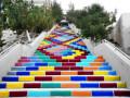 叙利亚最长彩色阶梯