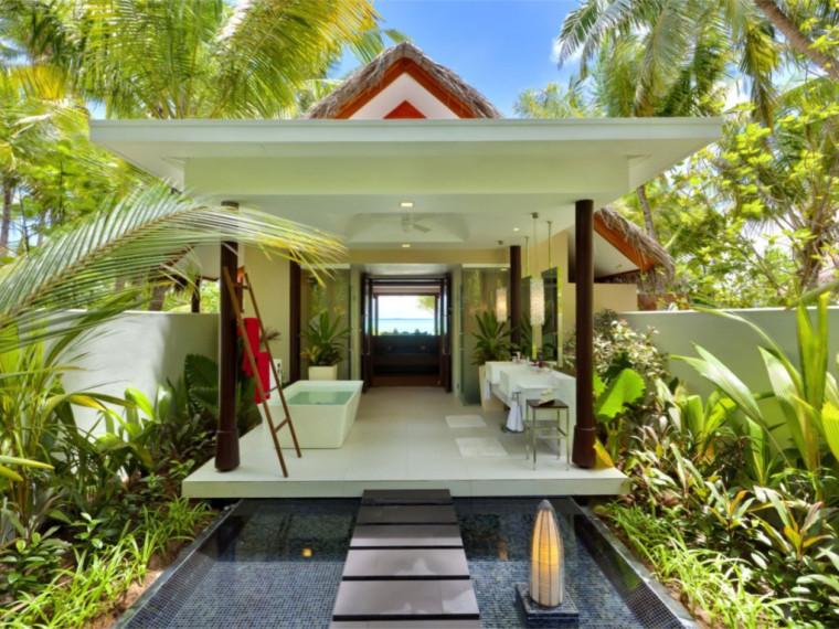 马尔代夫的海岛酒店