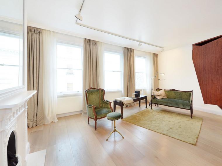 伦敦新旧融合的阁楼式公寓
