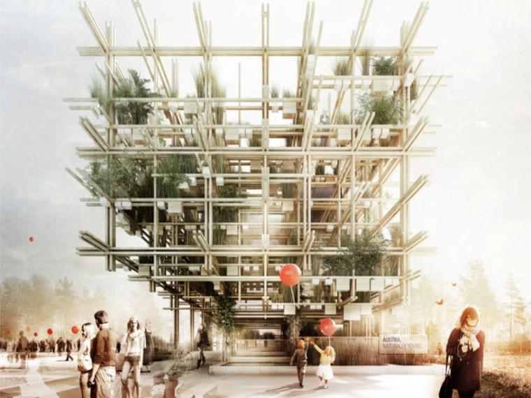 up建筑设计资料下载-2015米兰世博会奥地利馆