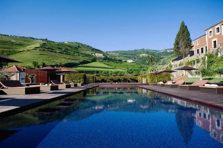 葡萄牙宏伟而豪华酒店游泳池图-葡萄牙宏伟而豪华酒店第6张图片
