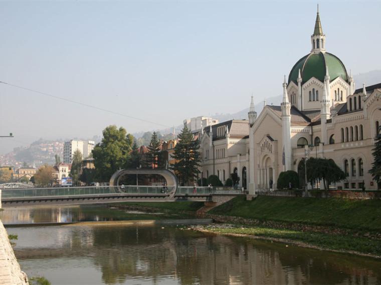 萨拉热窝和波黑FestinaLente大桥第1张图片