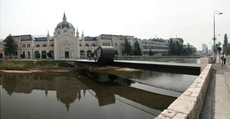 萨拉热窝和波黑FestinaLente大桥-萨拉热窝和波黑FestinaLente大桥第2张图片