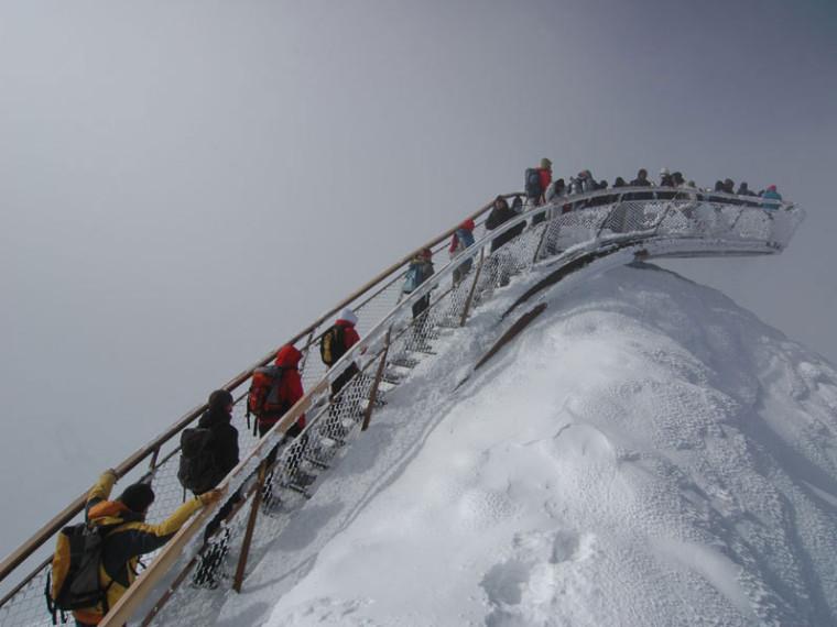 Tyrol冰川顶峰Stubai第1张图片