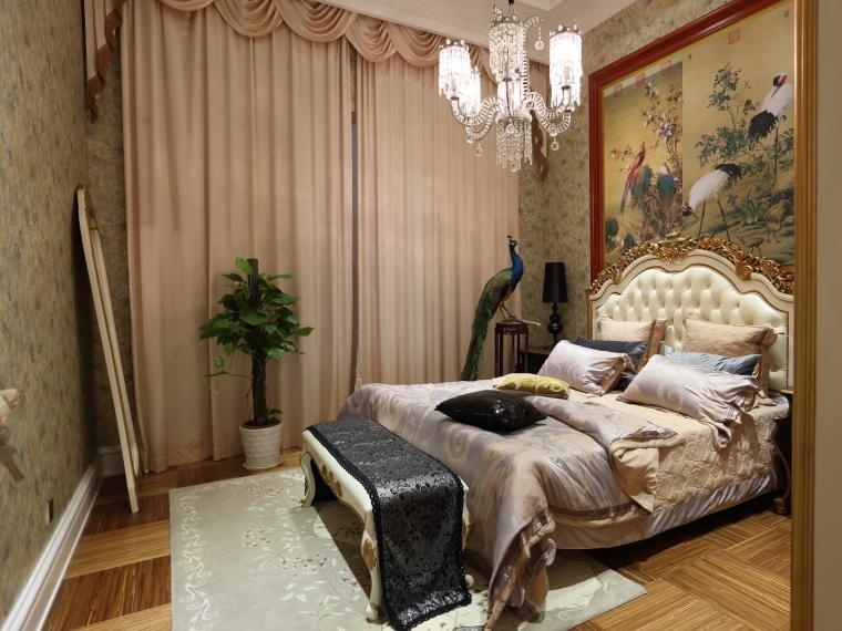 欧式贵族床资料下载-新古典-凡尔赛玫瑰