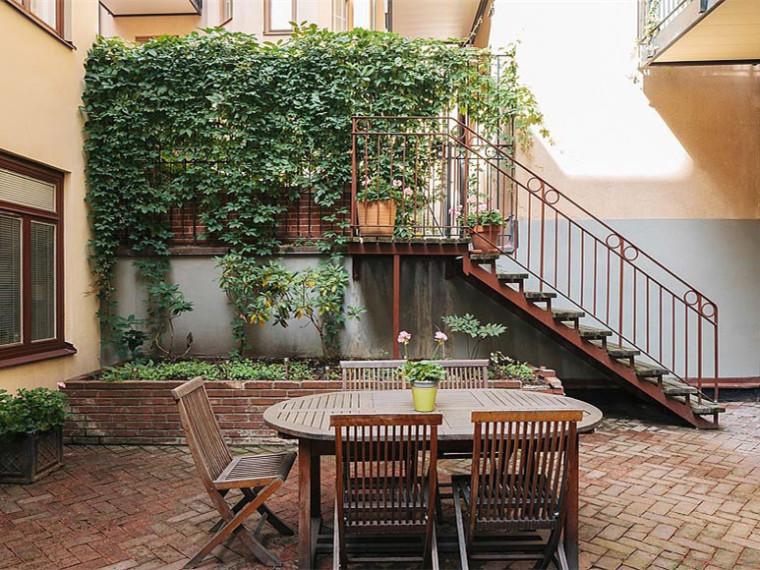 斯德哥尔摩阁楼式公寓