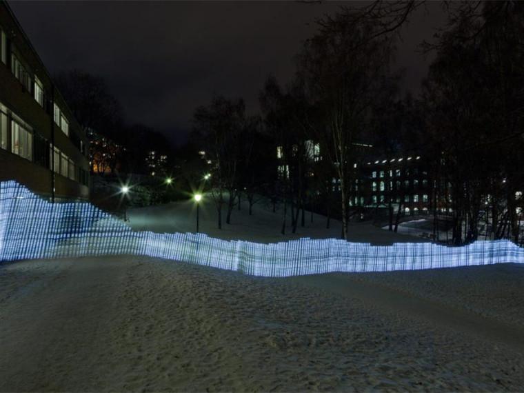 wifi网络的光绘画