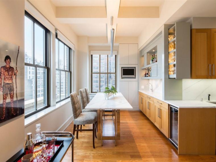 纽约视野开阔的别致公寓
