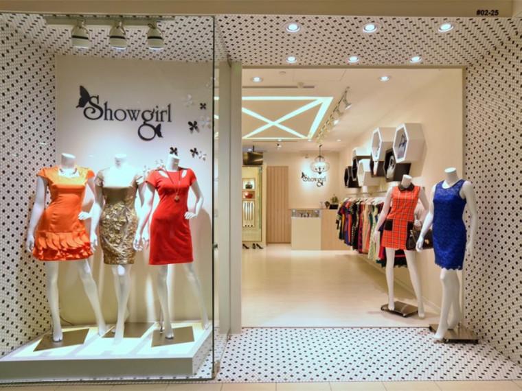 新加坡Showgirl女性服装专卖店