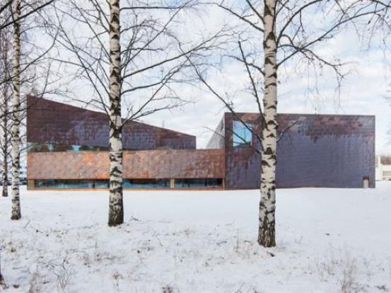 芬兰塞伊奈约基市图书馆