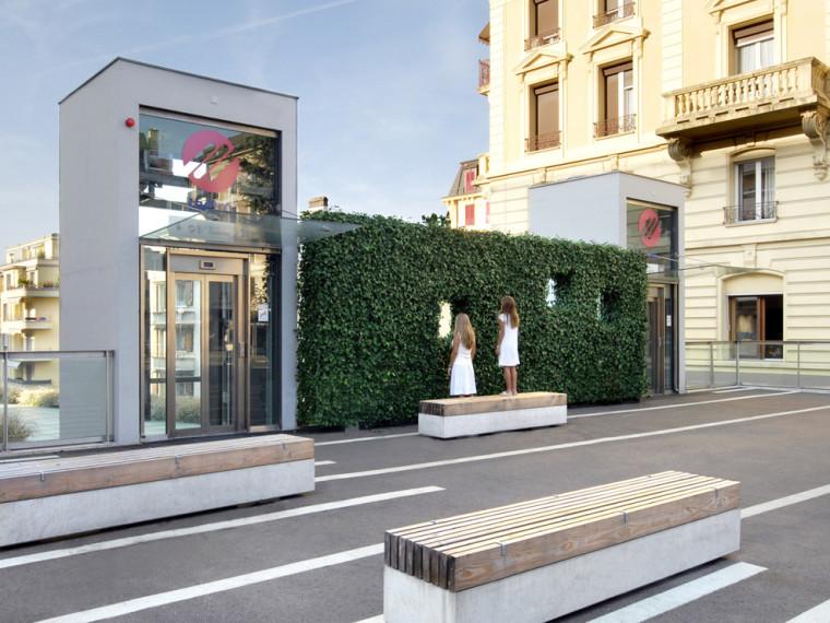 家具公共空间绿窗