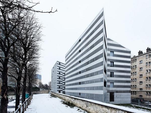 法国parsian社区住宅楼