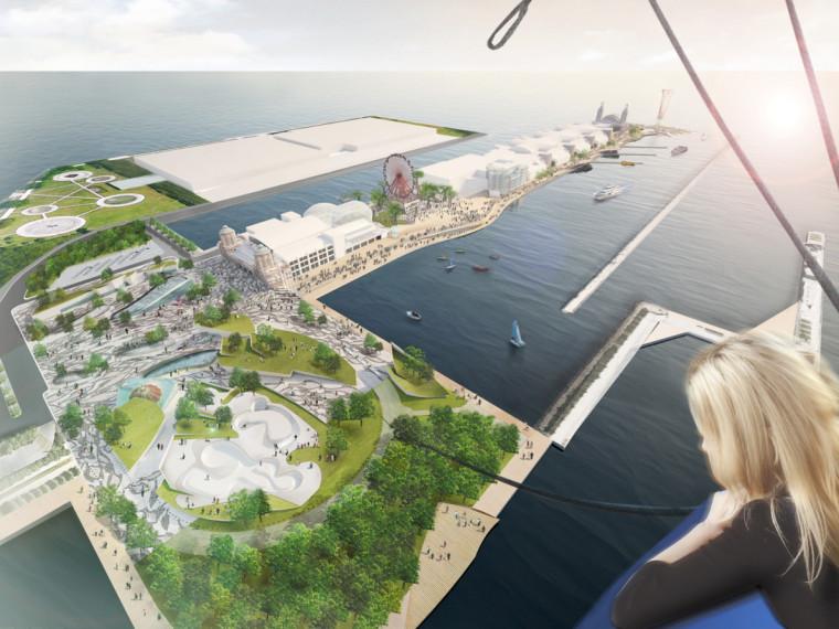 海军码头景观设计