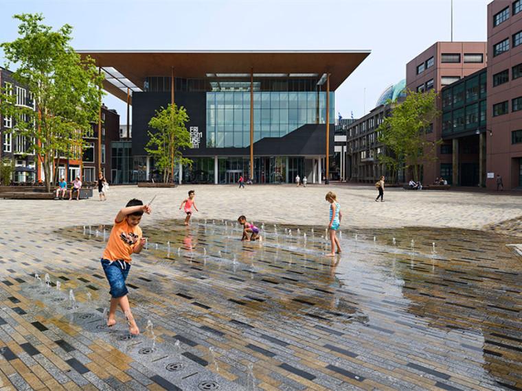 荷兰Wilhelmina广场改造计划
