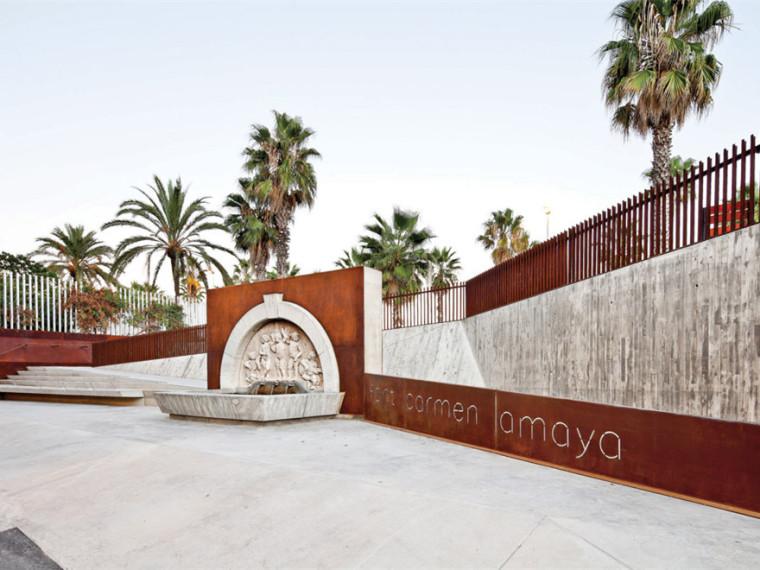Carmen Amaya喷泉景观改造
