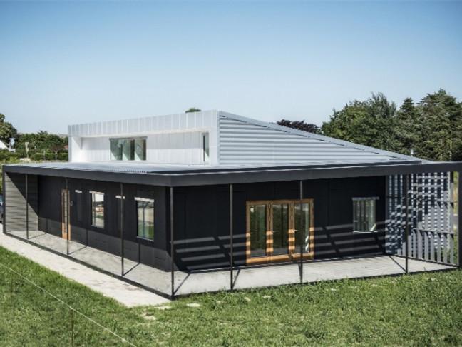 丹麦用采用可回收材料改建住宅
