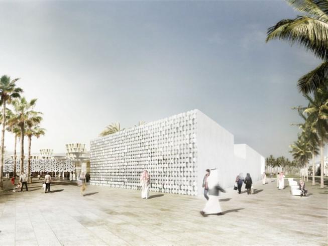 卡塔尔AL DHAKIRA商业街区