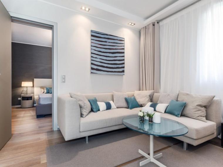 现代感公寓资料下载-Cote d'Azur现代感公寓