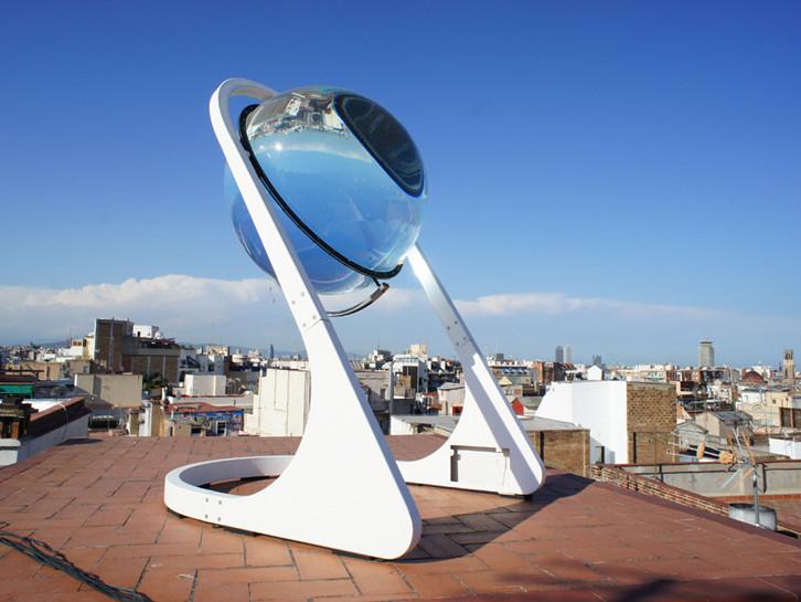 球形玻璃太阳能发电机