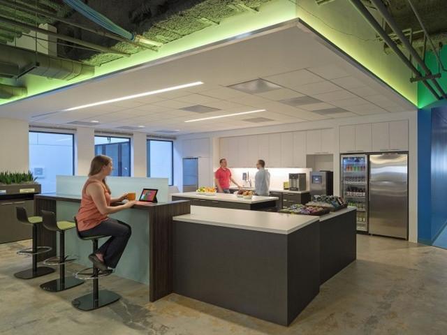 凯撒科技公司概念办公空间