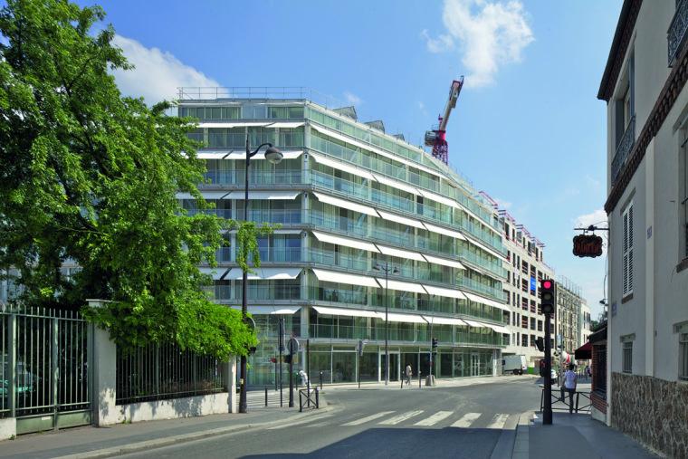 巴黎乌尔克饶勒斯学生及社会住房-巴黎乌尔克饶勒斯学生及社会住房第2张图片