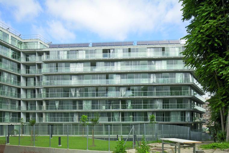 巴黎乌尔克饶勒斯学生及社会住房-巴黎乌尔克饶勒斯学生及社会住房第3张图片