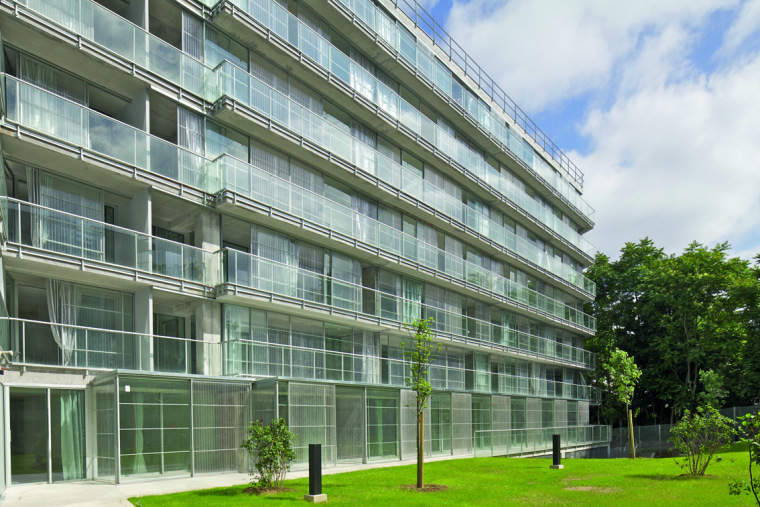 巴黎乌尔克饶勒斯学生及社会住房-巴黎乌尔克饶勒斯学生及社会住房第4张图片