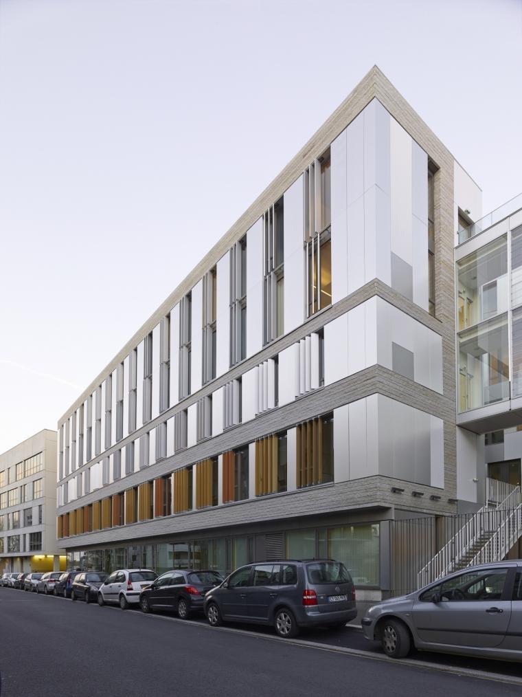 法国 Archipel Habitat总部办公楼-法国 Archipel Habitat总部办公楼第2张图片