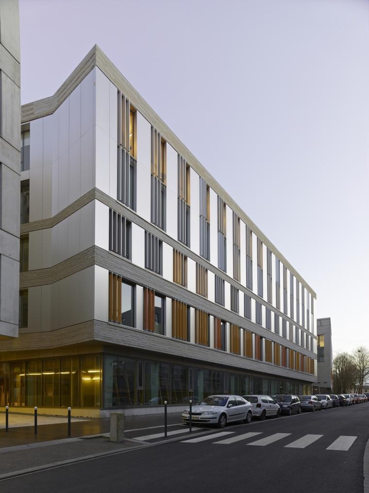 法国 Archipel Habitat总部办公楼-法国 Archipel Habitat总部办公楼第3张图片