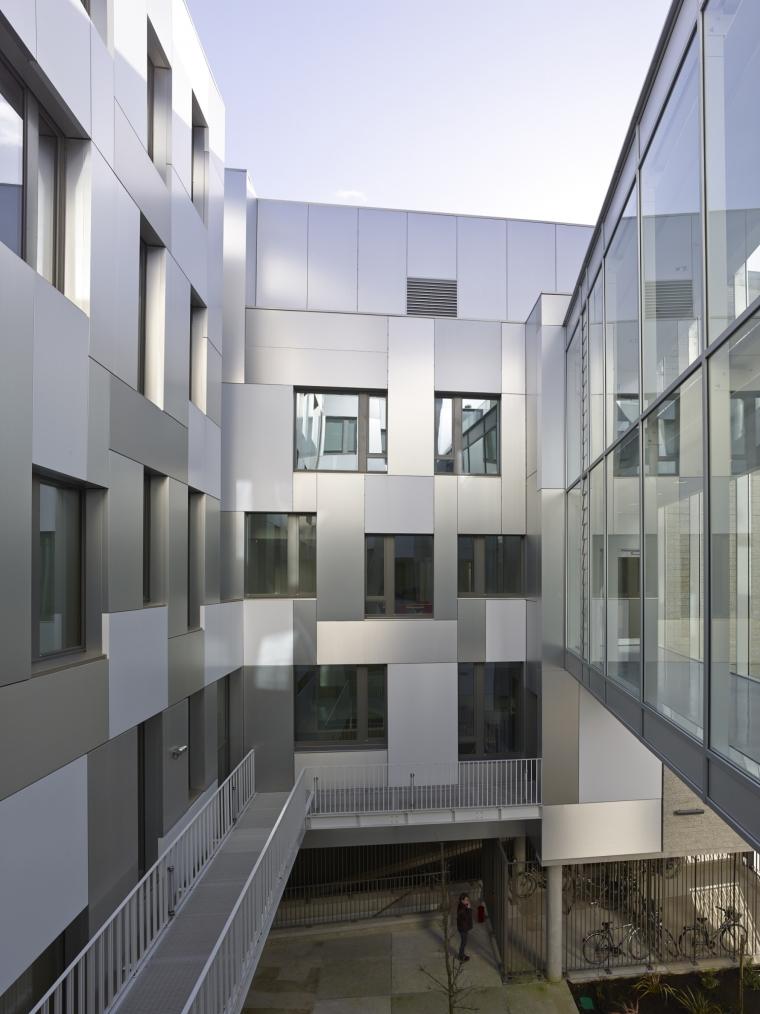 法国 Archipel Habitat总部办公楼-法国 Archipel Habitat总部办公楼第4张图片