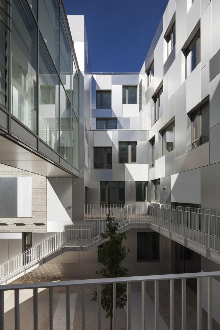 法国 Archipel Habitat总部办公楼-法国 Archipel Habitat总部办公楼第5张图片