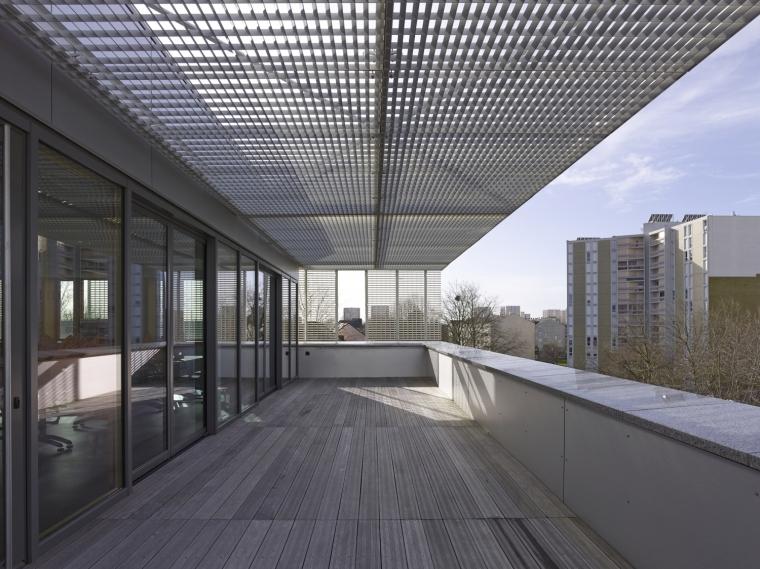 法国 Archipel Habitat总部办公楼-法国 Archipel Habitat总部办公楼第7张图片