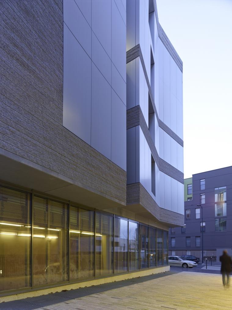 法国 Archipel Habitat总部办公楼-法国 Archipel Habitat总部办公楼第19张图片
