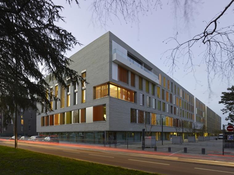 法国 Archipel Habitat总部办公楼-法国 Archipel Habitat总部办公楼第20张图片