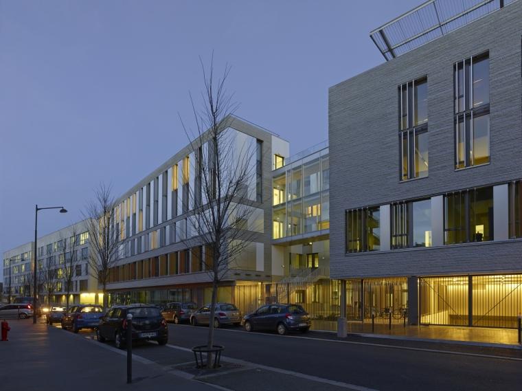 法国 Archipel Habitat总部办公楼-法国 Archipel Habitat总部办公楼第21张图片