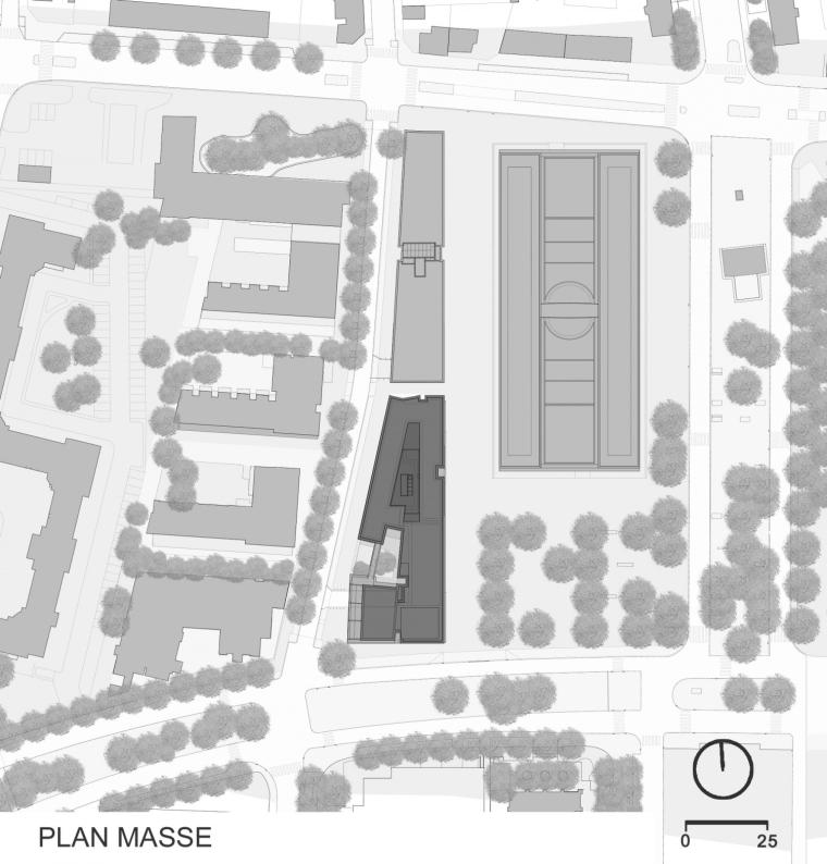 法国 Archipel Habitat总部办公楼-法国 Archipel Habitat总部办公楼第22张图片