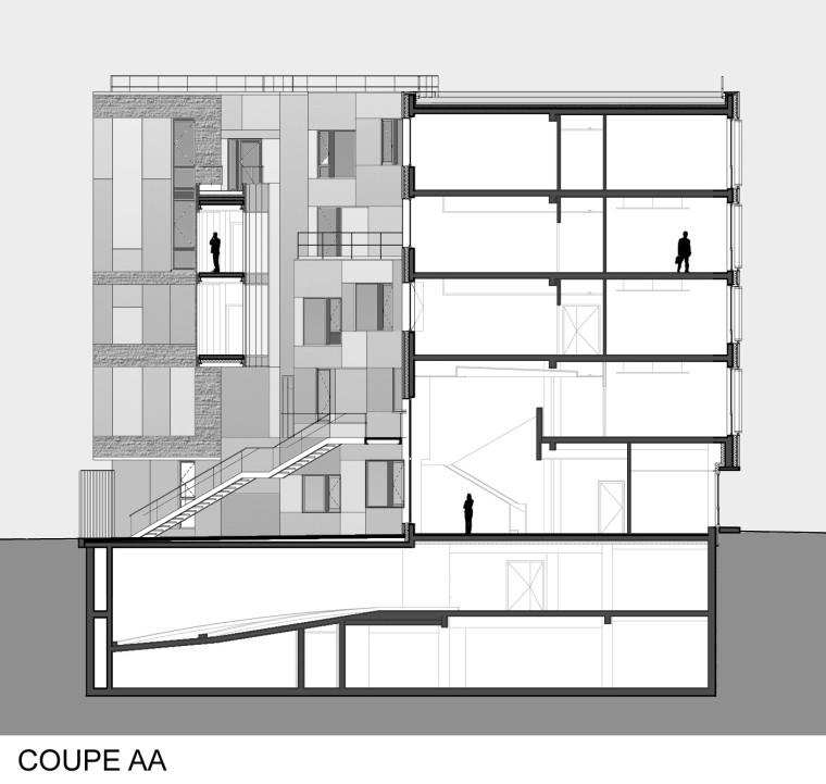 法国 Archipel Habitat总部办公楼-法国 Archipel Habitat总部办公楼第23张图片