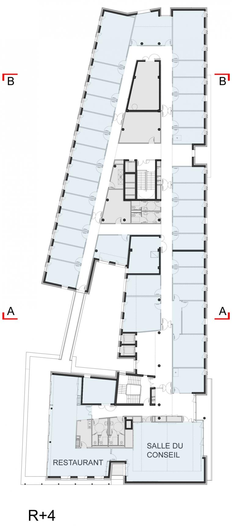 法国 Archipel Habitat总部办公楼-法国 Archipel Habitat总部办公楼第25张图片
