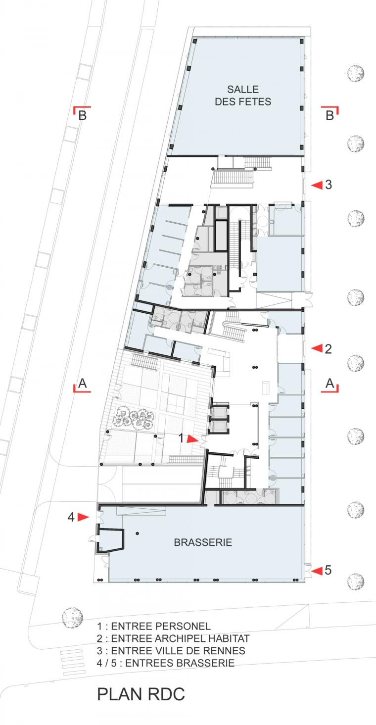 法国 Archipel Habitat总部办公楼-法国 Archipel Habitat总部办公楼第26张图片