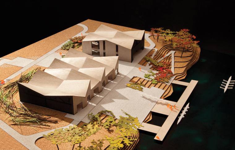 芝加哥克拉克公园WMS船屋模型图-芝加哥克拉克公园WMS船屋第20张图片