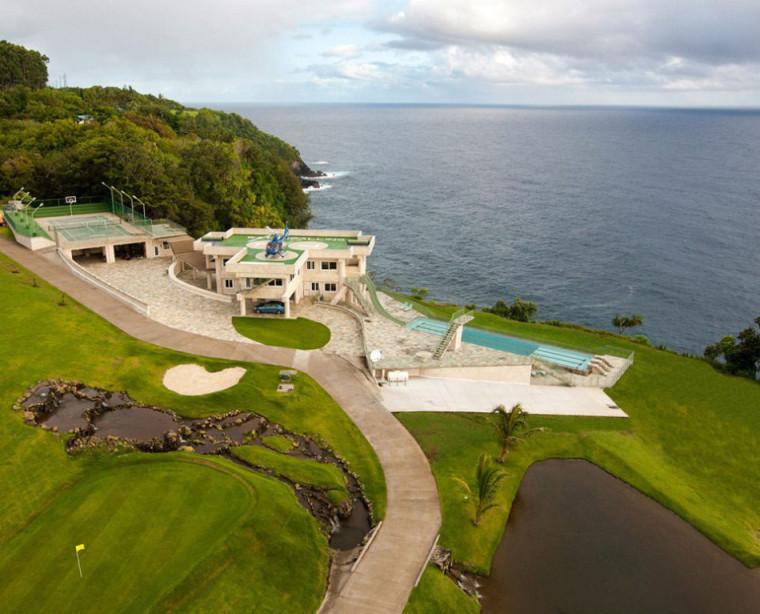 夏威夷拍卖的流水住宅外观图-夏威夷拍卖的流水住宅第2张图片
