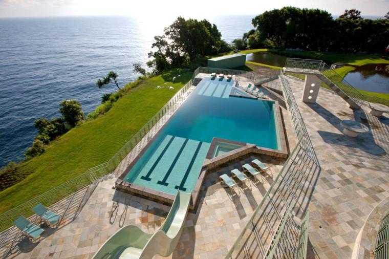 夏威夷拍卖的流水住宅露天游泳池-夏威夷拍卖的流水住宅第4张图片