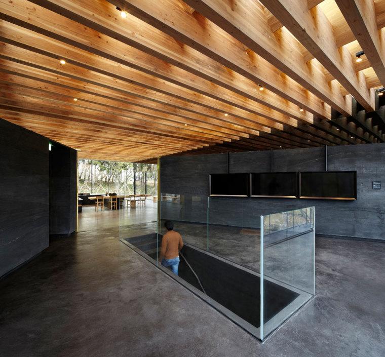 济州岛茶石博物馆及茶室内部局部-济州岛茶石博物馆及茶室第7张图片