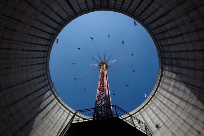 堆肥公园景观外部细节图-核电厂中的主题游乐场第6张图片