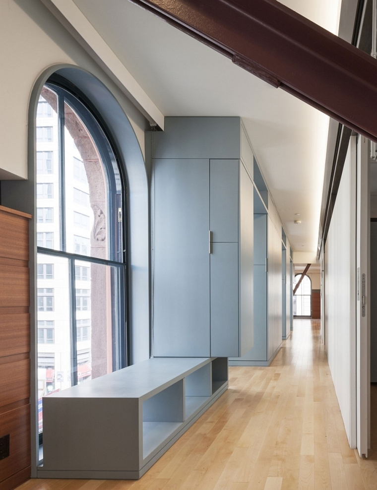 波士顿旧写字楼改造室内走廊图-波士顿旧写字楼改造第2张图片