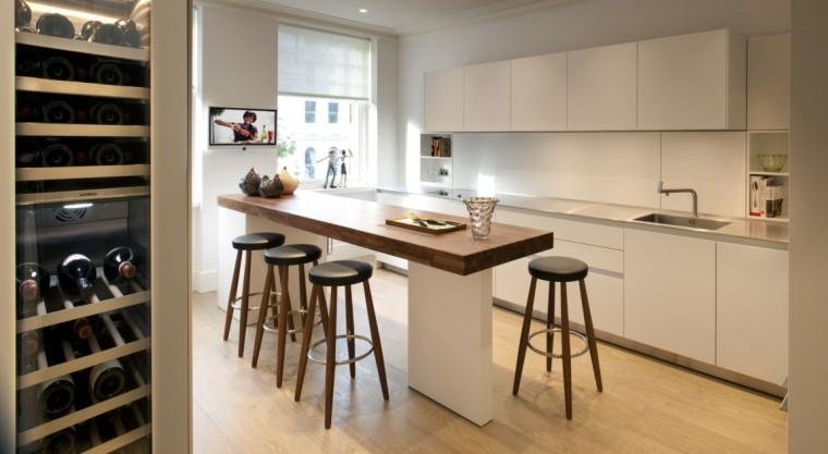 伦敦Queens Gate公寓室内厨房图-伦敦Queens Gate公寓第4张图片