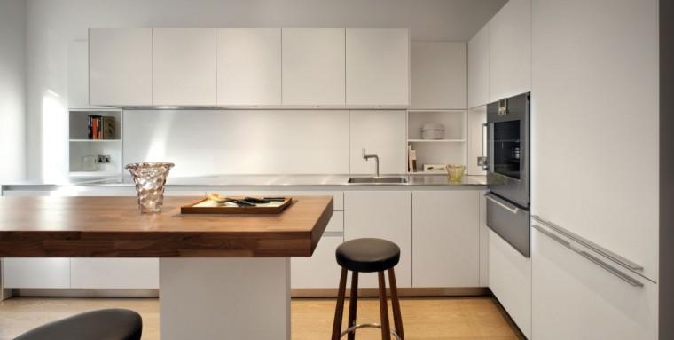 伦敦Queens Gate公寓室内厨房局部-伦敦Queens Gate公寓第5张图片