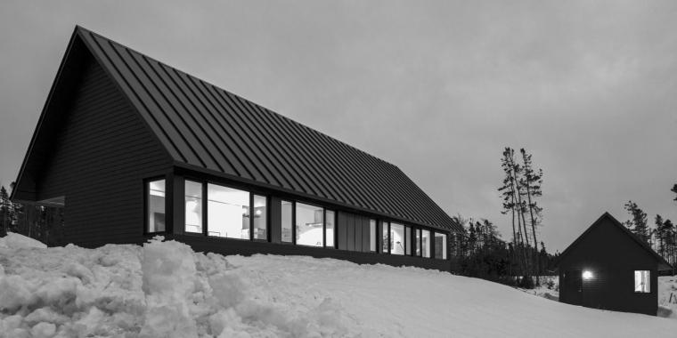 黑色三角墙住宅-黑色三角墙住宅第13张图片